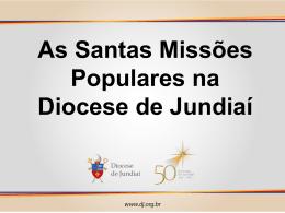 Santas Missões Populares na Diocese de Jundiaí