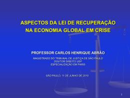 Carlos Henrique Abrão - INRE - Instituto Nacional de Recuperação
