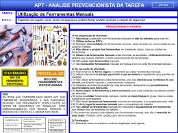 APT 03 - Utilização de Ferramentas Manuais