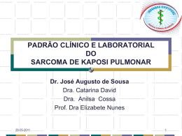 José Sousa Padrão Clinico e Laboral Skpulmonar
