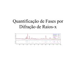 Medidas Quantitativas de Fases por Difração de Raios-x