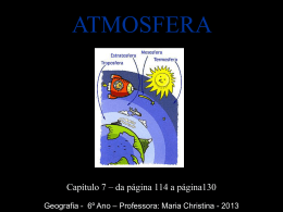 CENSA - 6º ANO - CAP_ 7 ATMOSFERA