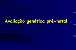 Avaliação Genética Pré