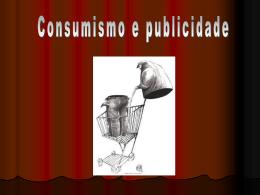 consumismo e publicidade