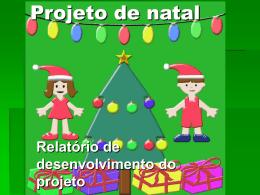 Projeto de natal
