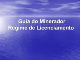 Registro de Licença