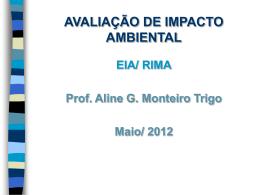 EIA RIMA - Pense Ambientalmente