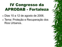 Palestra Drª. Miriam Fontenelle (APRODAB)