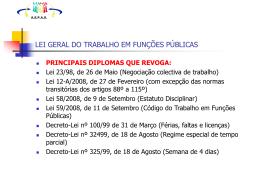 NOVAS MEDIDAS 2013 - ASPAS - Associação Sindical do Pessoal