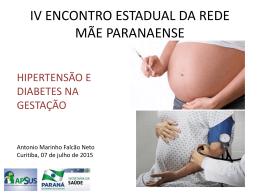Hipertensão e Diabetes na Gestação