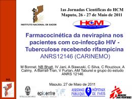 INS - III Jornadas Cientificas do HCM 2015