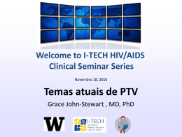 Slide 1 - Global Health Clinical Seminar Series