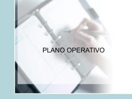 Tema: PLANO OPERATIVO