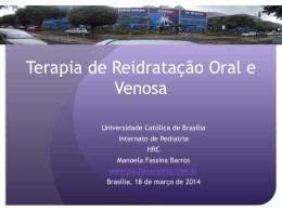Terapia de Reidratação Oral e Venosa