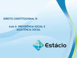 plano de aula – aula 6 direito constitucional iii