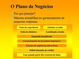introdução ao plano de negócios