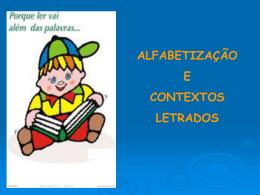 Alfabetização X Letramento