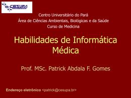 Habilidades e Atitudes no Curso de Medicina