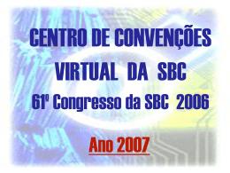 61º congresso da sbc