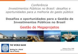 Gestão de Megaprojetos