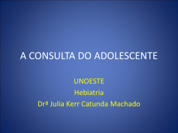 aula consulta do adolescente