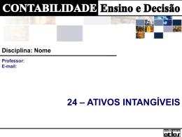 CAP 24 - Ativos Intangíveis