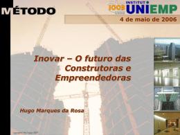Inovar – O futuro das Construtoras e Empreendedoras