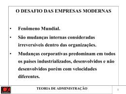 GESTÃO EMPRESARIAL EM MARKETING I