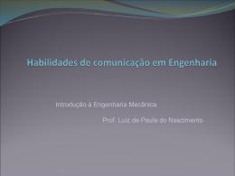 Habilidades de comunicação em Engenharia