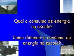Qual o consumo de energia na escola? Como diminuir o