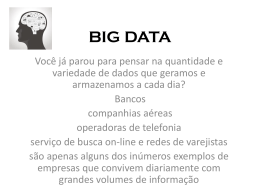 BIG DATA. (Formato PPT)