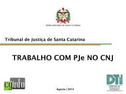 Apresentação SP-2 - Tribunal de Justiça de MS