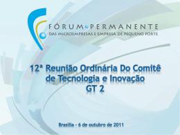 1. - Subvenção econômica - Ministério do Desenvolvimento