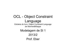 Slides OCL 1