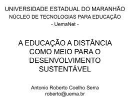 Uma educação catalizadora