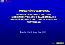 Capacitação abril de 2009 - Prevenção - SICLOM
