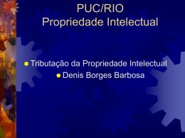 PUC/RIO Propriedade Intelectual