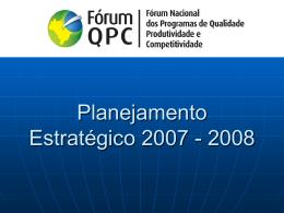 Fórum QPC - Movimento Brasil Competitivo