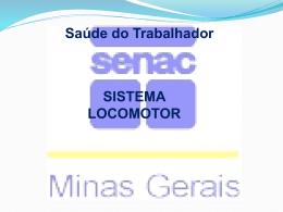 sistema locomotor SENAC 2012 ppt