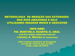 THE NILE - Divisão de Sensoriamento Remoto