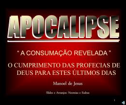 APOCALIPSE - A REVELAÇÃO DO FIM