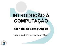 Tipos de Memória - Informática UFSM