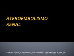 ATEROEMBOLISMO RENAL