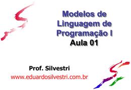 Introdução a Linguagem de Programação