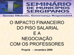 impacto financeiro do piso salarial