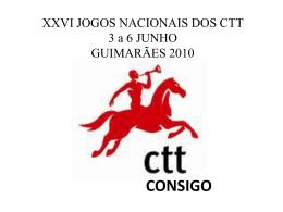 resultados. - XXVI Jogos Nacionais dos CTT
