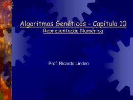 Representação numérica - Algoritmos Genéticos, por Ricardo Linden