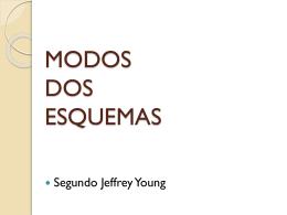 MODOS DOS ESQUEMAS