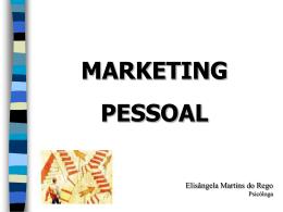 Palestra Marketing Pessoal (2008)