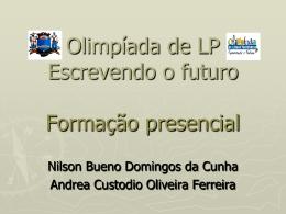 Olimpíadas de Língua Portuguesa – Formação presencial de SP